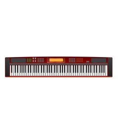 Electric piano vector