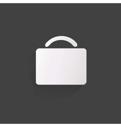 Portfolio web icon vector