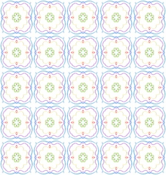 Abstract color repeating pattern vector