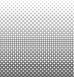 Abstract monochrome square pattern design vector
