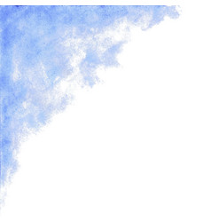 Baby blue watercolor abstract background vector