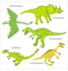 Cartoon dinosaurus vector