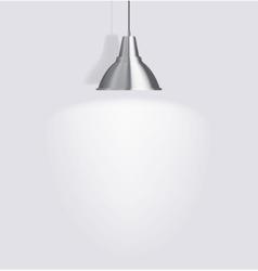 Ceiling lamp vector