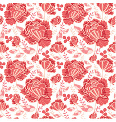 Salmon pink and yellow decorative roses and vector