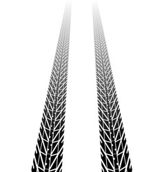 Black tire tread vector