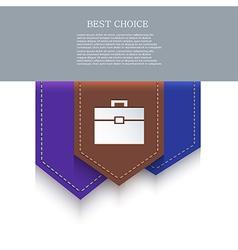 bookmark icon Eps10 vector image