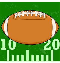 Football field icon vector image