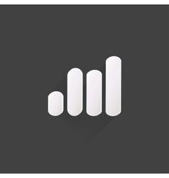 Graphic web icon vector image