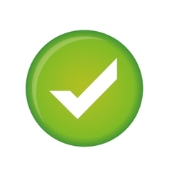 check mark icon image vector image vector image