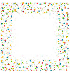Confetti celebration background with space for vector