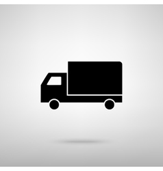 Delivery sign vector image