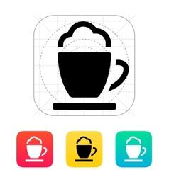 Espresso cup icon vector