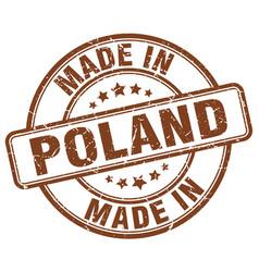 Made in poland vector