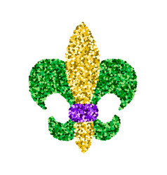 Mardi gras sign vector
