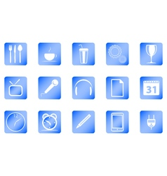 set icon vector image vector image