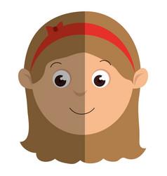 beautifull mother avatar character vector image