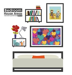 House areas design vector