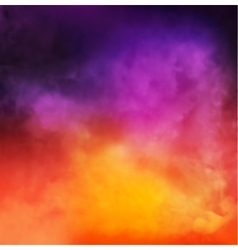 Abstract colorful smoky background vector