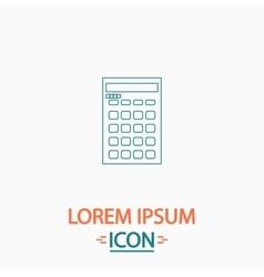 Calculator computer symbol vector