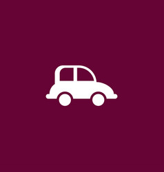 Car transport icon simple vector