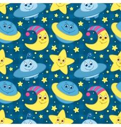 Children space pattern vector