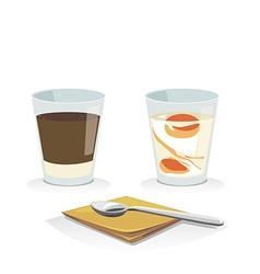 coffeeegg vector image