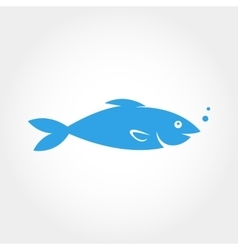 Fish Icon Elements for design vector image vector image