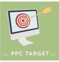 Pay per click hit the target vector