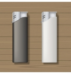 Lighters mock up vector