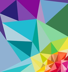 Polygon backgrounds vector