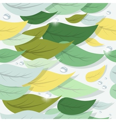 Colorful tree leaves vector