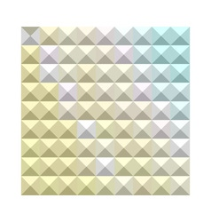 Light khaki yellow abstract low polygon background vector
