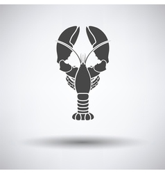Lobster icon vector image vector image