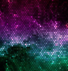 Nebular mosaic background vector