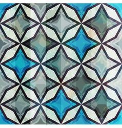 vintage mosaic seamless vector image