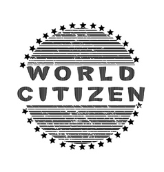 World citizen vector