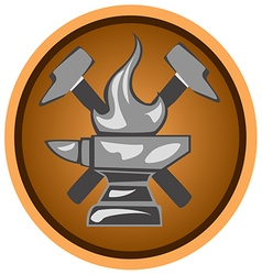 Icon forge vector