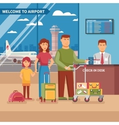 Airport work vector