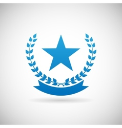 Award Symbol Troph Icon Design Template vector image