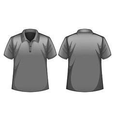 Gray shirt vector