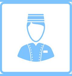 Hotel boy icon vector