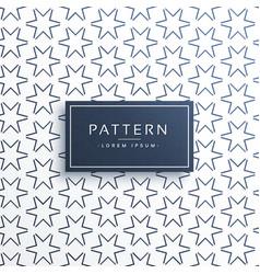 line star pattern background design vector image