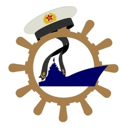 Soviet Navy vector image vector image