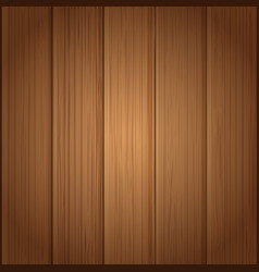 Wood board wall vector