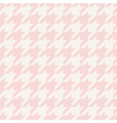 Tile houndstooth pattern or plaid background vector