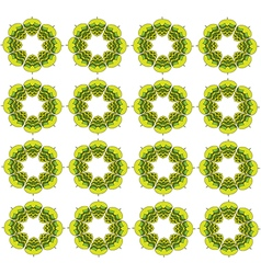 Grass green hop flowers digital seamless vector