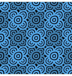 Background dark blue and black vector image vector image