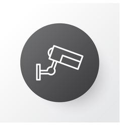 Cctv icon symbol premium quality isolated vector