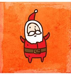 Father Christmas Cartoon vector image vector image