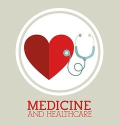 Medicine design vector image